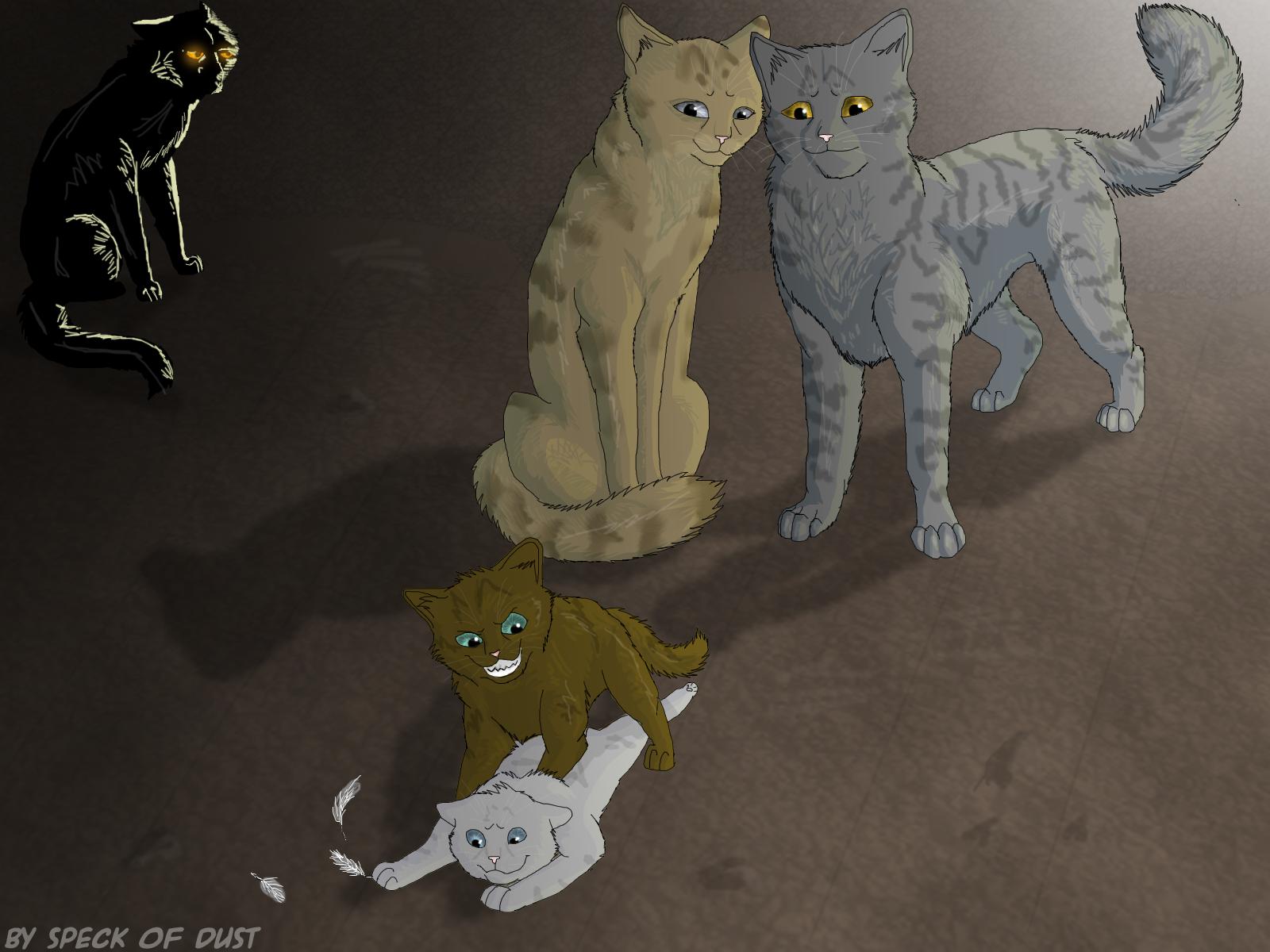 Коты воители фанфики искра