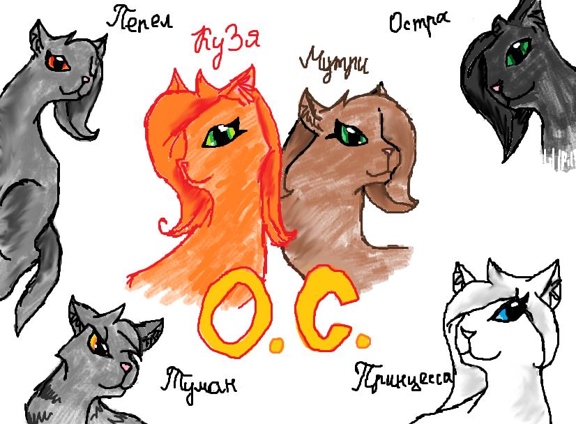 Фото котов воителей как рисовать