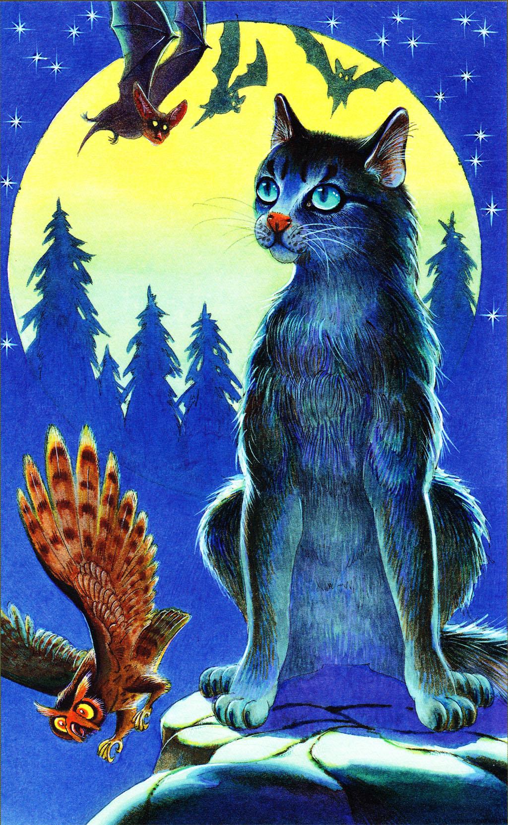 Все книги коты воители герои книг